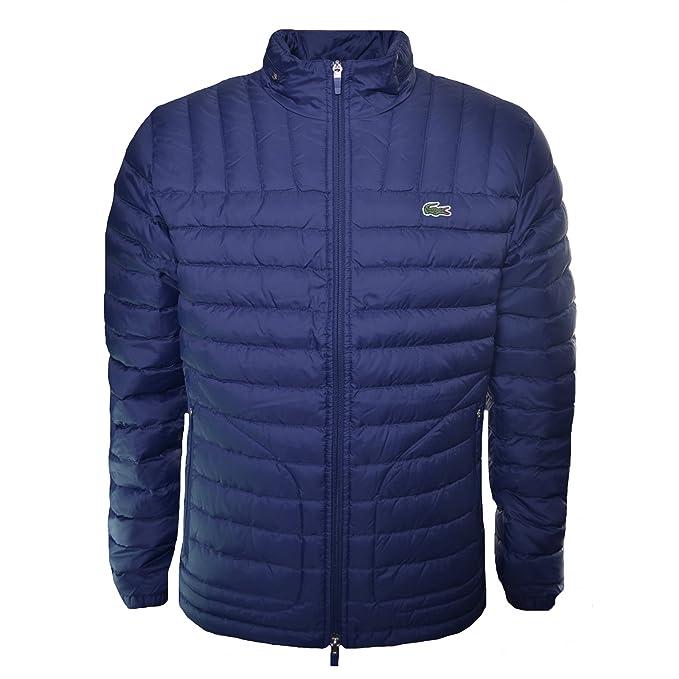 Lacoste - Abrigo - Chaqueta - para Hombre Azul Azul XL ...