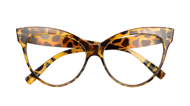 93e09b518 Mua sản phẩm ShadyVEU - Vintage Cat Eye Oversize Clear Lens Fashion ...