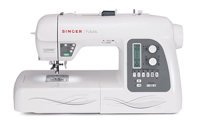 Singer Futura XL-550: Top Home Embroidery Machine With Largest Hoop