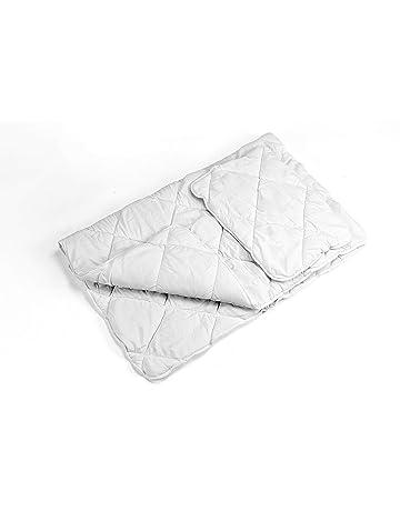 Set de edredón y almohada infantil para bebé con funda ligera manta infantil