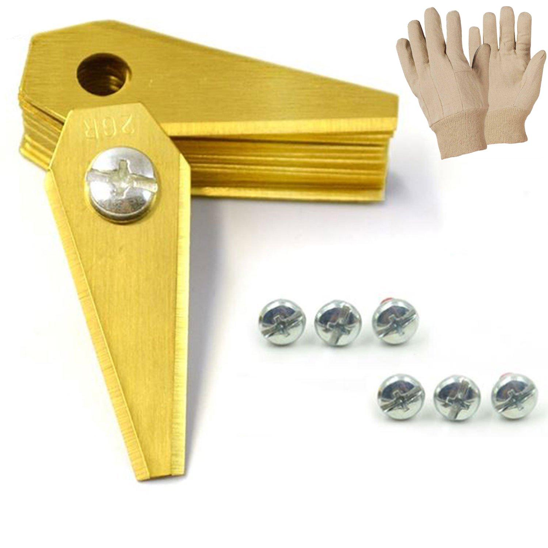 Cuchilla de repuesto para robot cortacésped Titanio 1 mm (Incluye ...