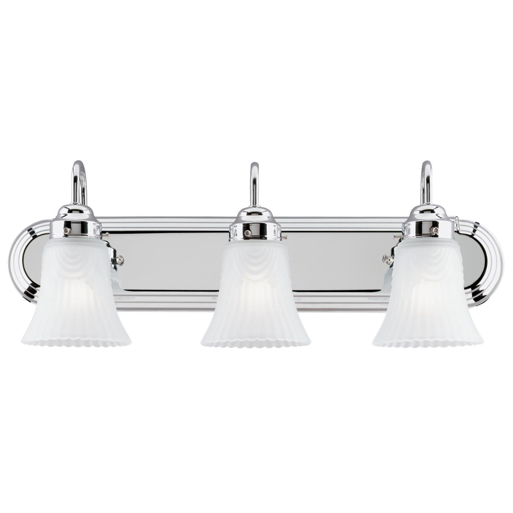 Westinghouse 6652200 3 Light Bracket Bathroom Light
