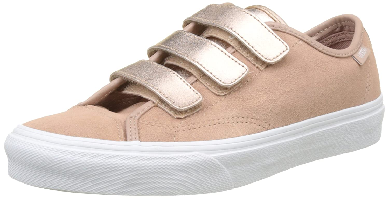 Vans Style 23 V, Zapatillas para Mujer 40 EU|Rosa (2-tone Metallic/ Mahogany Rose/True White)