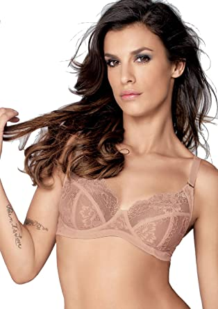 03984f56cd Lormar My Class Comfort Lace Bra at Amazon Women s Clothing store
