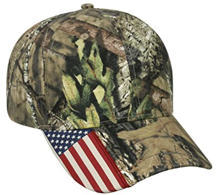 Image Unavailable. Image not available for. Color  Mossy Oak Country Camo  American Flag Camo Hunting Hat f13e4f949cc