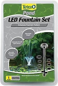 Tetra Pond 19707 Tetra LED Light Fountain Set for Aquarium