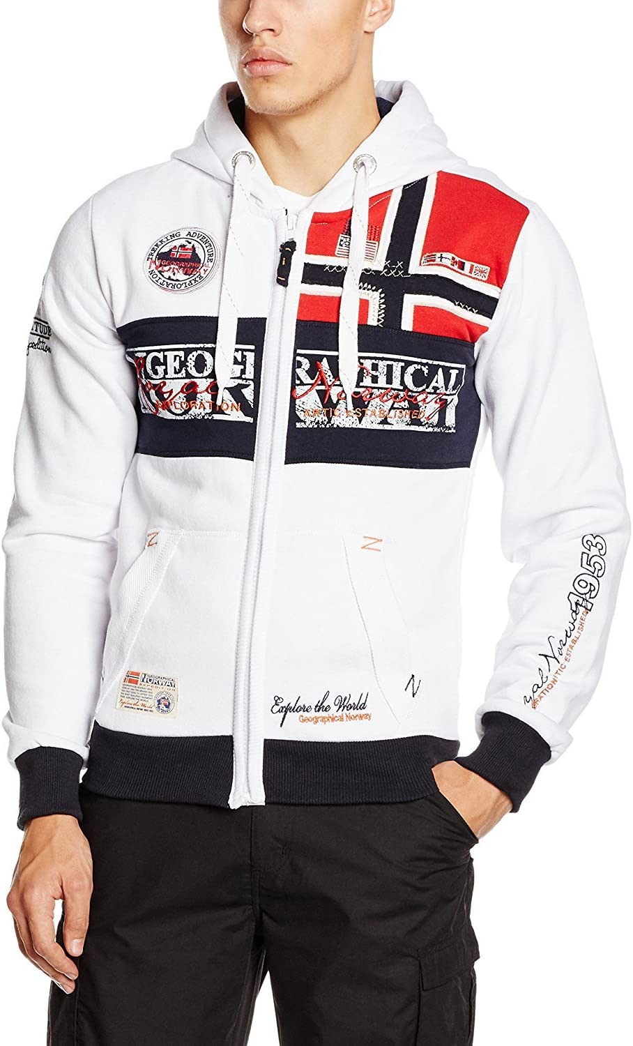 Geographical Norway Flyer Men 100 - Capucha Hombre
