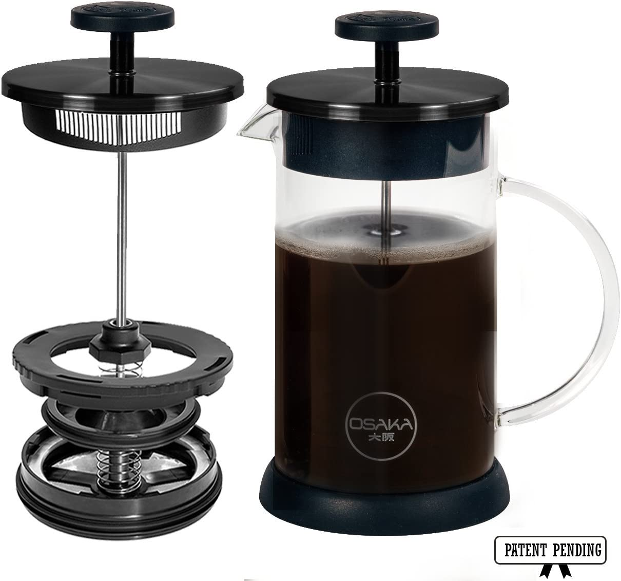 Osaka French Press Coffee and Tea Maker