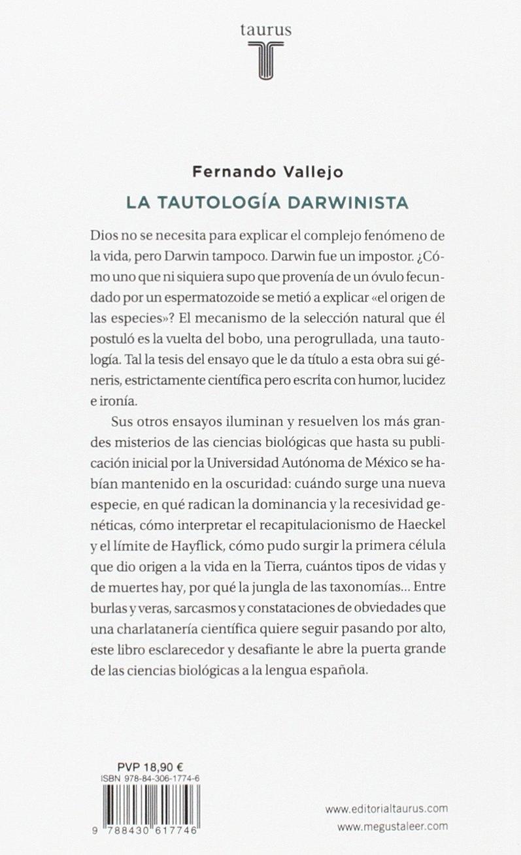 TAUTOLOGIA DARWINISTA PDF DOWNLOAD