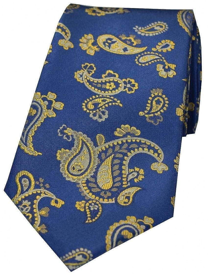 David Van Hagen - Corbata de seda para hombre, diseño de cachemira ...
