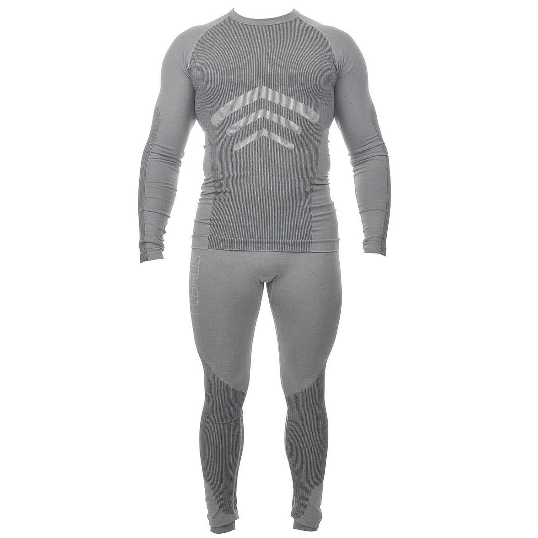 Esquí térmica Ropa interior funcional para hombre Juego Blusa + Pantalón Elbrus Magnum: Amazon.es: Deportes y aire libre