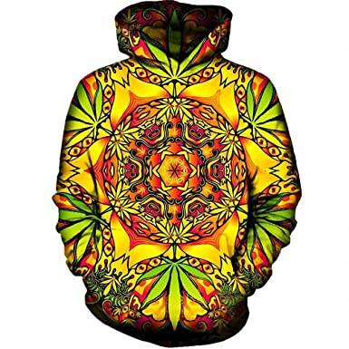 Amazon.com: Psychedelic Weed Hoodies Sweatshirt Men Women NEW Long Sleeve Autumn Hooded With Hat Sudaderas Hombre Tracksuit Dropship hoodies men M: Clothing