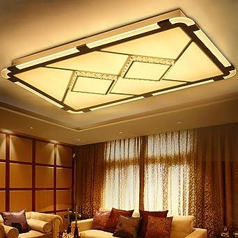 Deckenleuchte LED, Contemporary Acryl Kristall Lampe, Rechteckig  Lampenschirm, Deckenbeleuchtung Für Wohnzimmer, Schlafzimmer