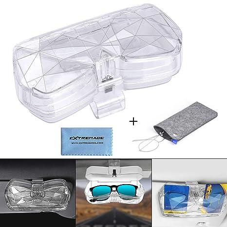 Extremade - Soporte para Gafas de Sol de Coche, Universal ...