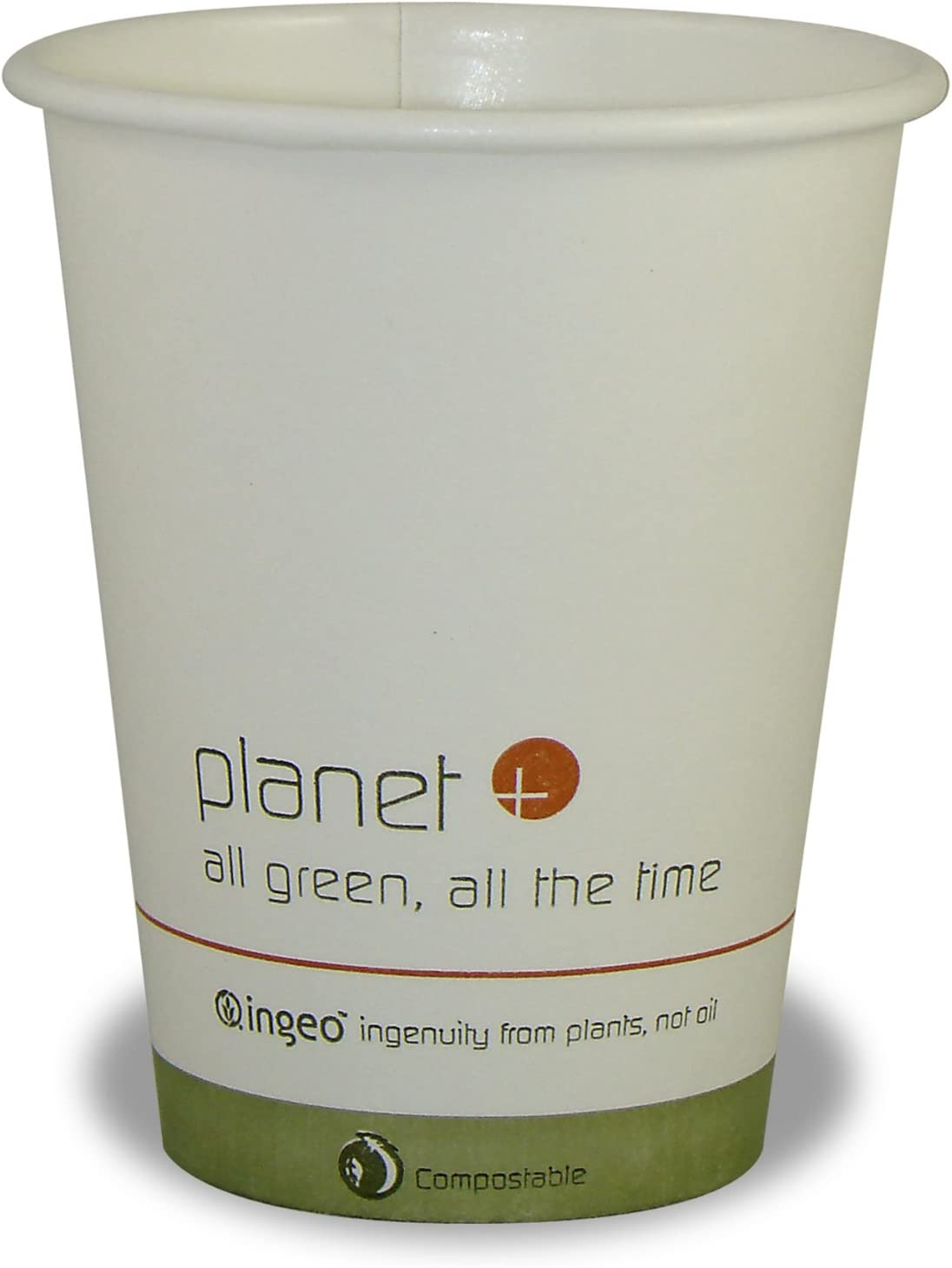 B002SQJI98 Planet + 100% Compostable PLA Laminated Hot Cup, 8-Ounce, 1000-Count Case 71cyzwCUiUL
