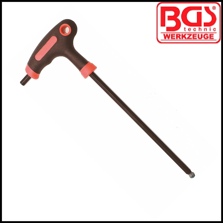 T Handle 150 mm Internal Hex BGS 6 mm Allen Key BGS-7882-6