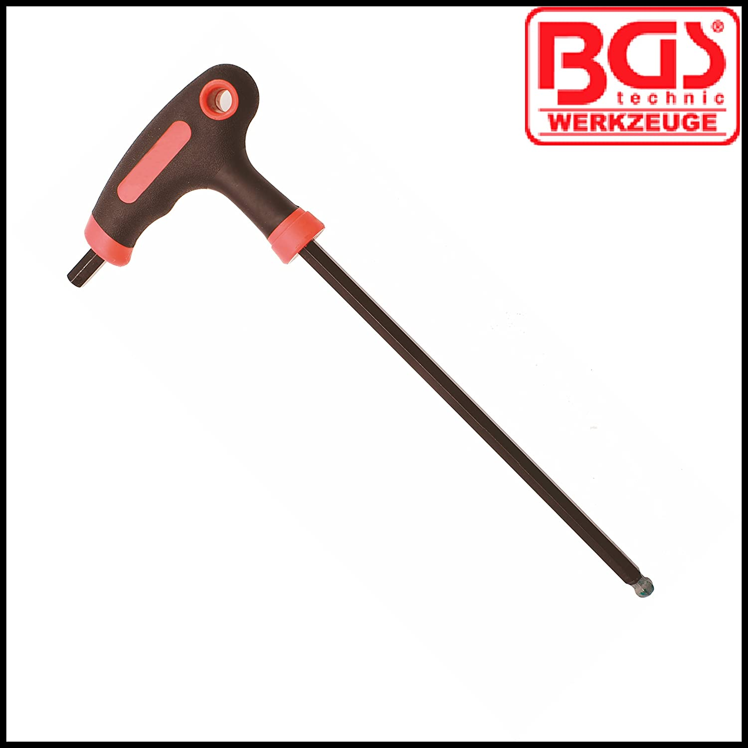 2 mm Allen Key BGS BGS-7882-2 Internal Hex T Handle 100 mm