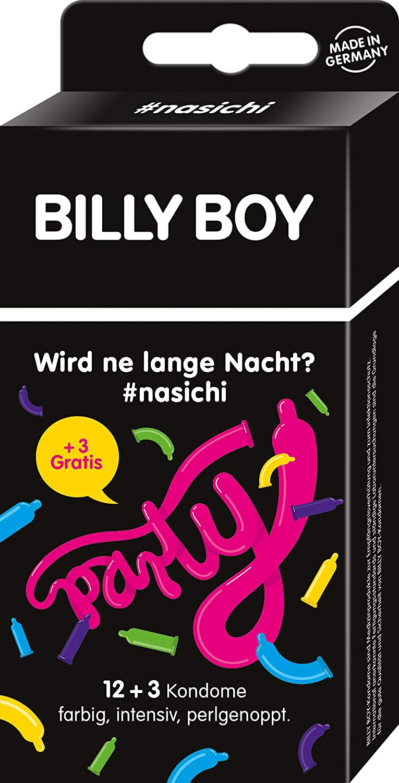 Amazonde Billy Boy Nasichi Party Pack 12 3 Gratis Kondome