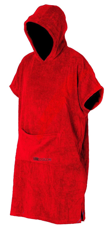 booicore Accappatoio, vestaglia, resistente da esterni, originale, rosso