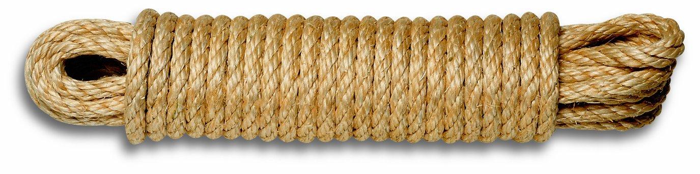 Chapuis AL10 Rope Sisal Braided/Maximum Load 610 kg/Diameter 10 mm/Length 10 m