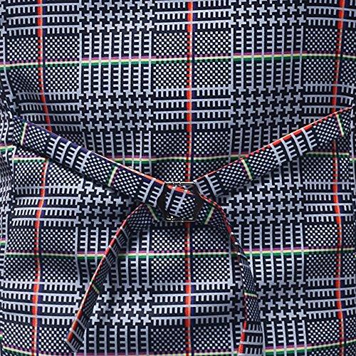 Men Coats Hot WEUIE Men Casual Printed Sleeveless Jacket Coat British Suit Vest Blouse (5XL, Gray) by WEUIE (Image #7)