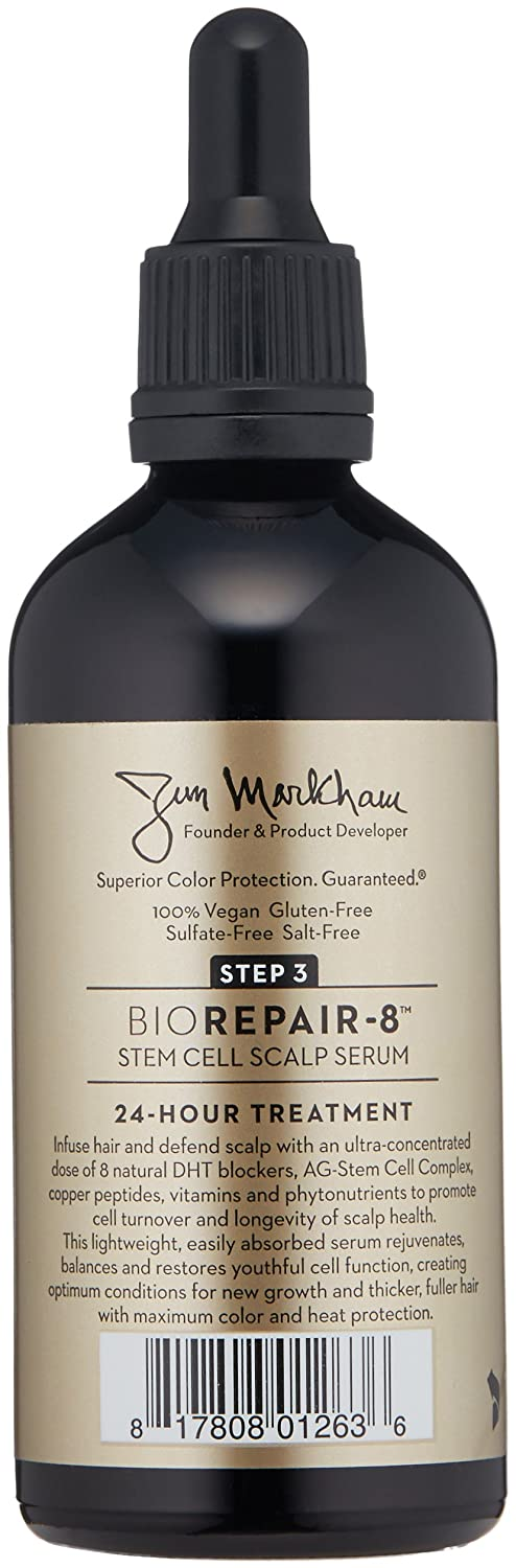 ColorProof BioRepair-8 Anti-Hair Loss Serum for Damaged Hair, Hair Growth Therapy: Anti-Thinning Scalp Serum for Men and Women, Natural, Drug-Free, Hair Loss Prevention Treatment: Premium Beauty