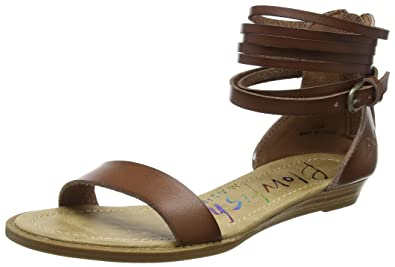 77f8a325cba9 Blowfish Women s Becha Ankle Strap Sandals