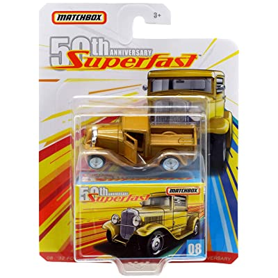 Matchbox 50th Anniversary Super Fast '32 Ford Pickup: Toys & Games