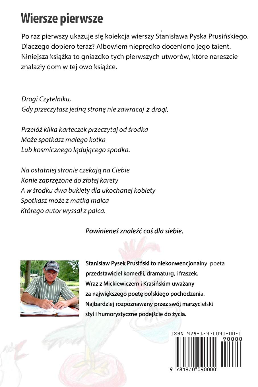 Amazoncom Wiersze Pierwsze Polish Edition 9781970090000