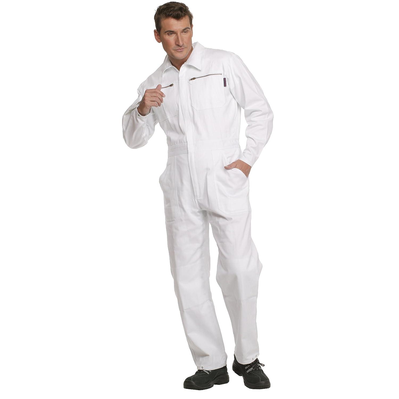 Charlie Barato® Maleroverall - waschfester Overall, robuster Arbeitsanzug  weiß (52)  Amazon.de  Bekleidung 7959ab13f4