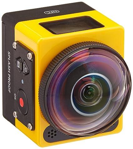 amazon com kodak pixpro sp360 action cam with extreme accessory