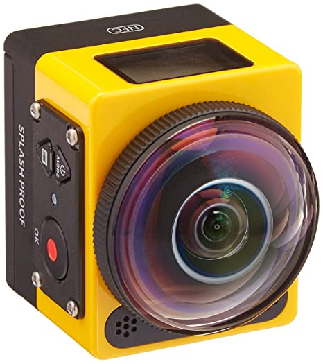 Kodak PIXPRO SP360 Action Cam with Extreme Accessory Pack Action Cameras at amazon
