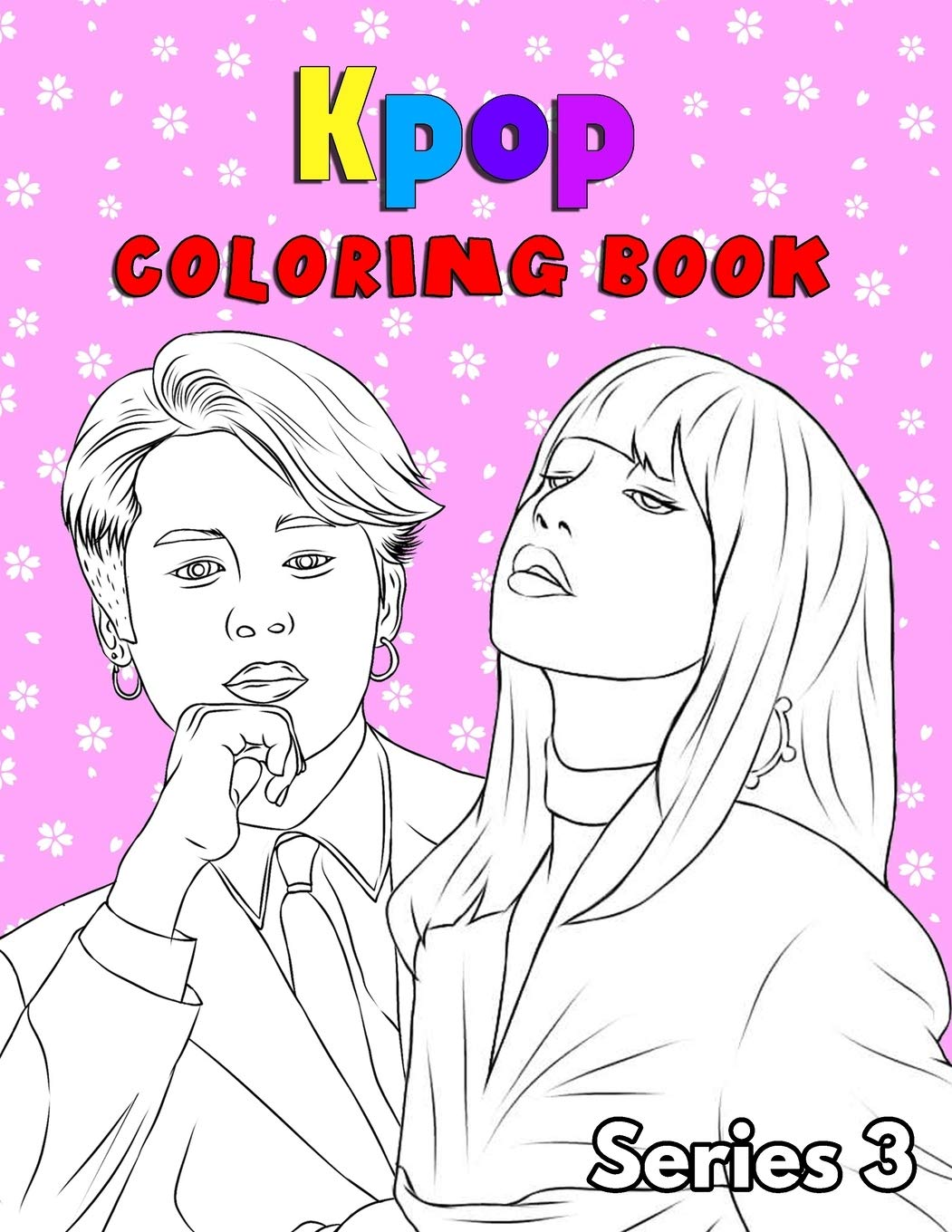 Kpop Coloring Book For Bts Jin Rm Jhope Suga Jimin V And Jungkook Exo Blackpink Kpop Lover Fans K Pop Book Series 3 Amazon De Questoplay Coloring Book Fremdsprachige Bucher