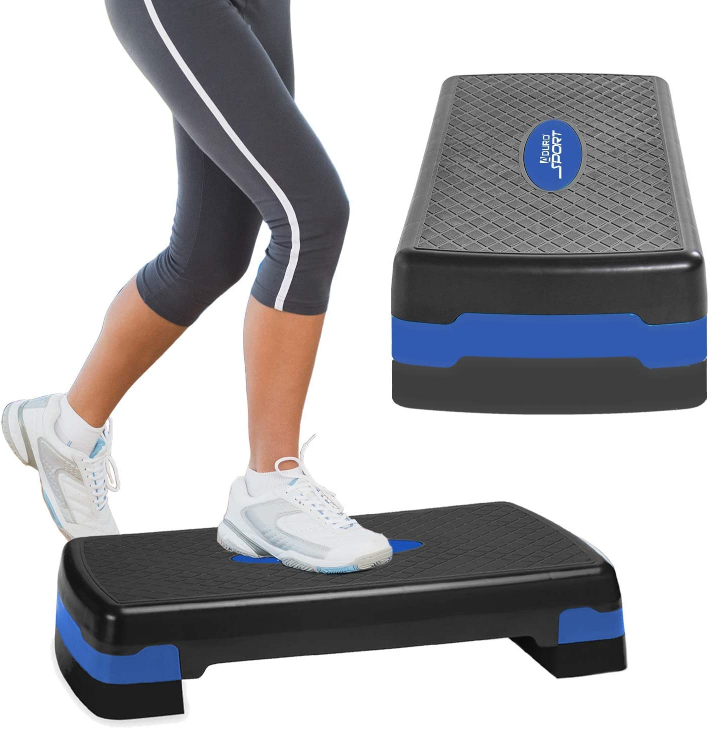 Effective Adjustable Fitness Stepper Romantic Valentines Day Aerobic Stepper Fitness Footboard Durable Bodybuilding Home For Gym Aerobic Step
