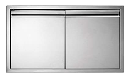 Charmant MarinersWarehouse Stainless Steel Insulated Double Access Door For  BBQ/Outdoor Kitchen 19u0026quot; ...