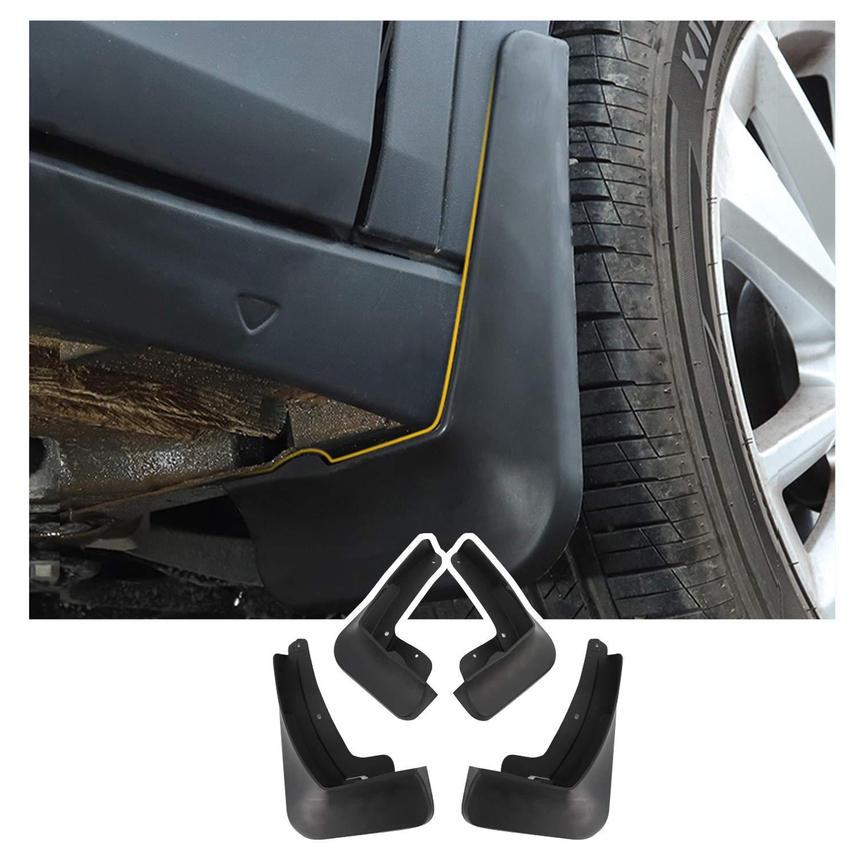 lot de 4 YEE PIN T Cross garde-boue garde-boue pour V W T-coss accessoires anti-/éclaboussures avant arri/ère protection garde-boue avec vis de fixation