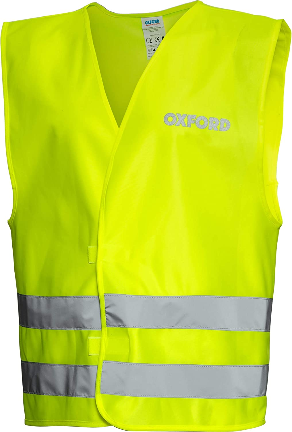 L//Xl, Giallo Oxford Gilet Di Visibilit/à Moto Bright Packaway Fluorescent Giallo