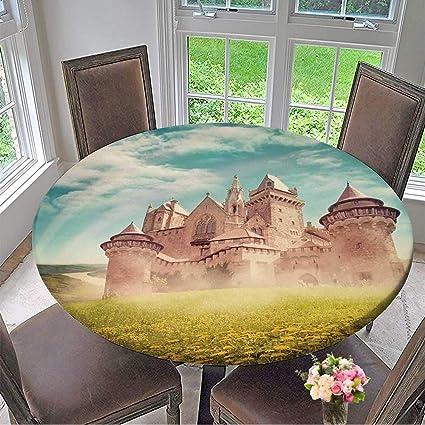 amazon com mikihome elasticized table cover fairy tale princess rh amazon com elasticized table cover square elasticated table cover waterproof