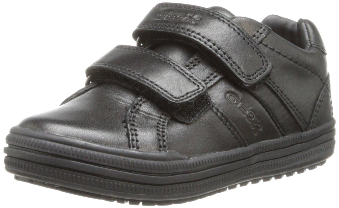 Geox JR Elvis Uniform Shoe (Toddler/Little Kid/Big Kid),Black,35 EU (3.5 M US Big Kid)