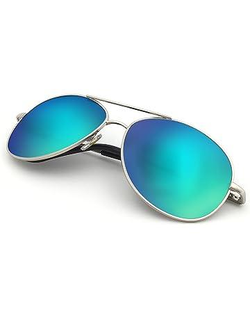 J+S Premium Military Style Classic Aviator Sunglasses 14f1fb7d8b20