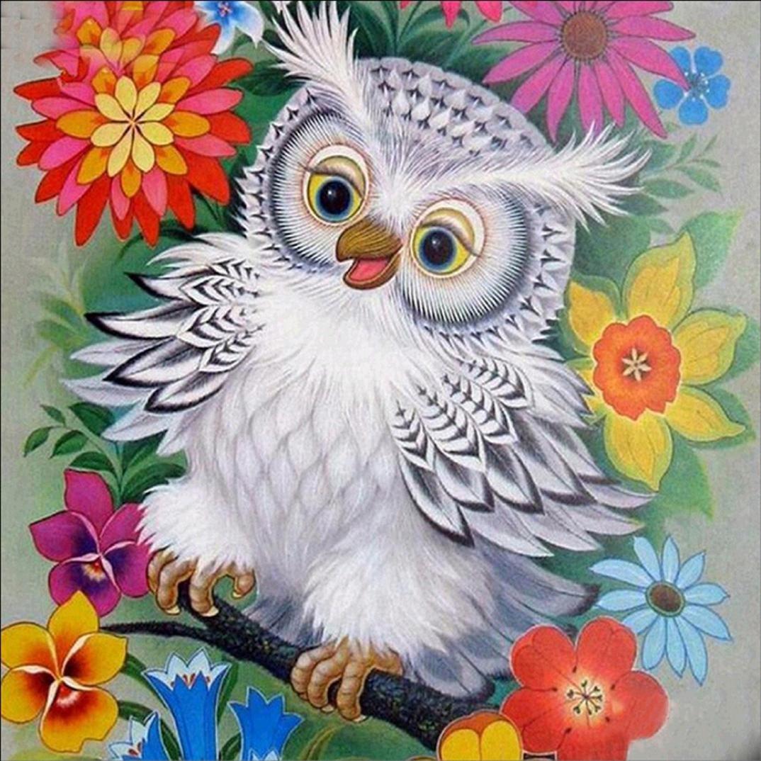 5dホーム装飾、bokeleyダイヤモンド刺繍絵画ウォールステッカー猫動物クロスステッチキット 40*30cm B076B24KRR H