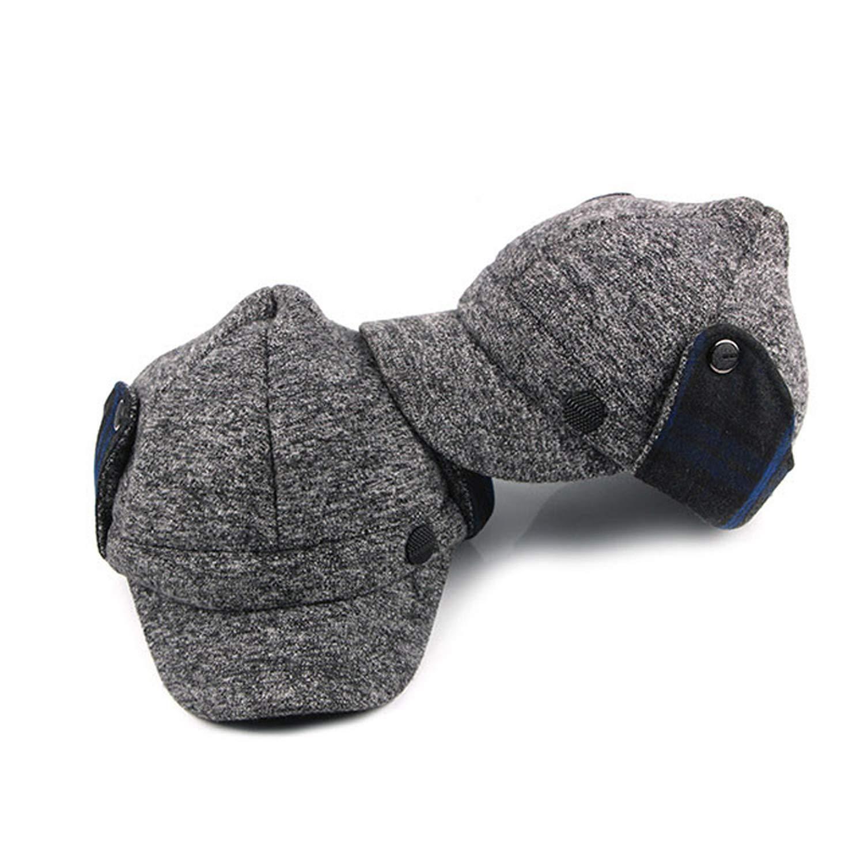 bc51652f1 Kerr Kellogg 2019 Winter Baseball Cap Women Pointed Caps with Ear ...