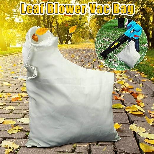 FzJs-J-in Accesorios para Herramientas de jardín de Bolsa de vacío de soplador de Hojas para trituradora eléctrica de césped: Amazon.es: Hogar