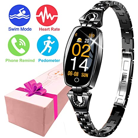 Amazon.com: Symfury Womens Smart Watch Fitness Tracker ...