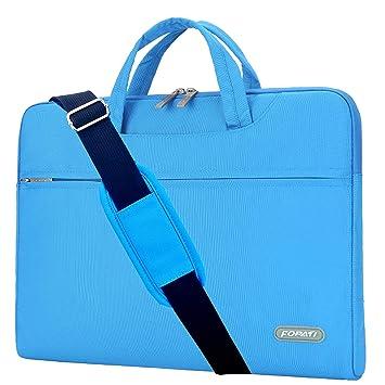 Fit 11-15.6/'/' Laptop Protective Travel Grip Shoulder Bag Sleeve Case for Laptop