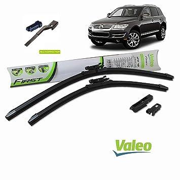 Valeo Juego de 2 escobillas de limpiaparabrisas Especiales para VWTiguan Dim.600/530 mm: Amazon.es: Coche y moto