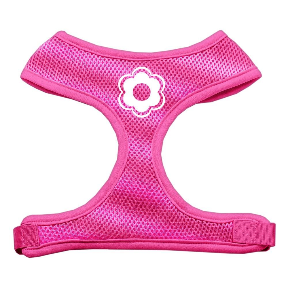 Mirage Pet Products Daisy Design Soft Mesh Dog Harnesses, Small, Pink