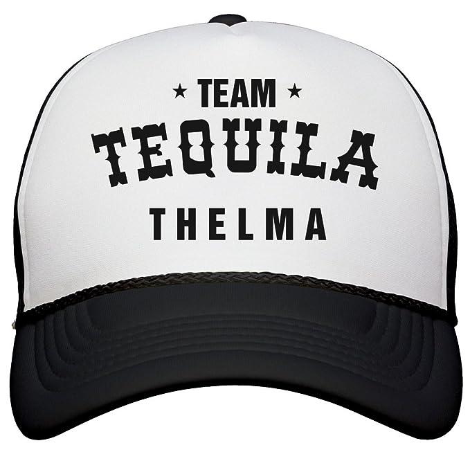 f82b24da8 Amazon.com: FUNNYSHIRTS.ORG Drinking Team Tequila Thelma: Snapback ...