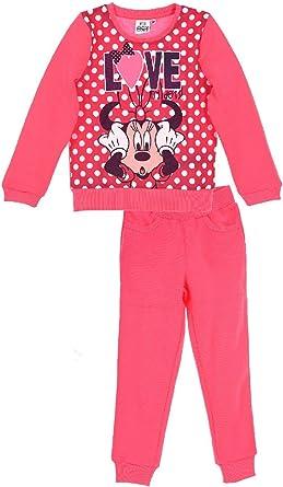 Chandal niña Minnie Disney color Rosa Talla 4: Amazon.es: Ropa y ...