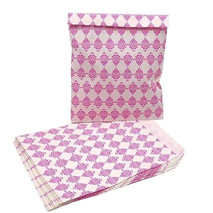 keramido Color Rosa bolsas de papel Bolsas de regalo Candy ...